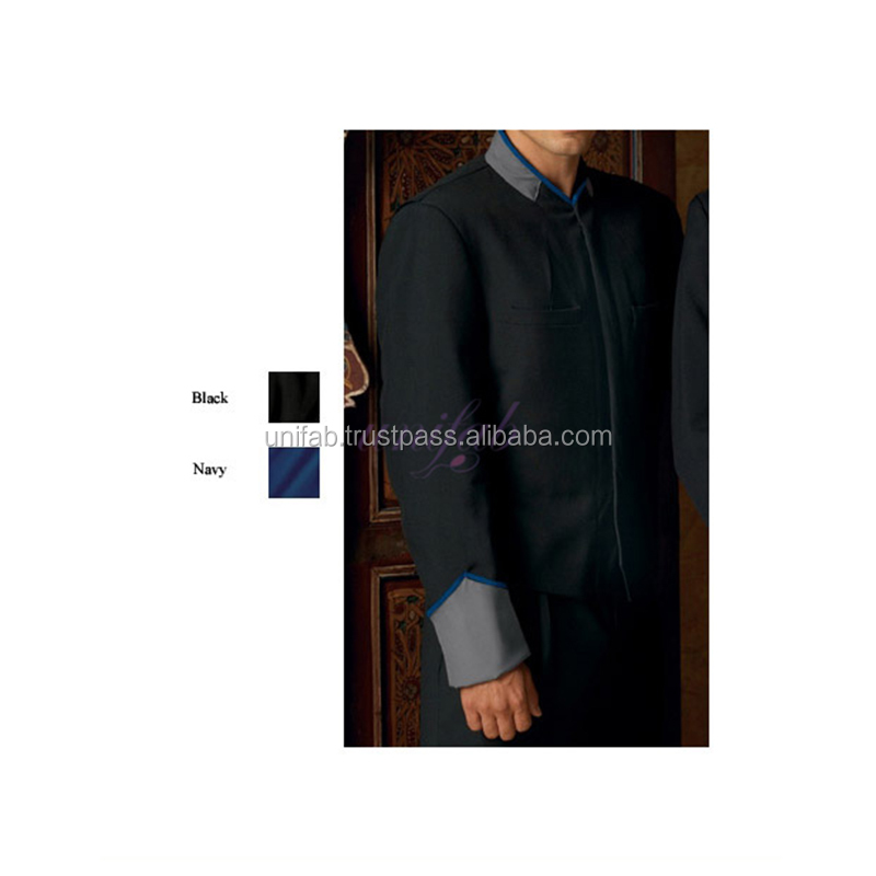 OEM Wholesale Price Hotel of Restaurant 2018 Gloednieuwe Bellboy Uniform Fabrikant India