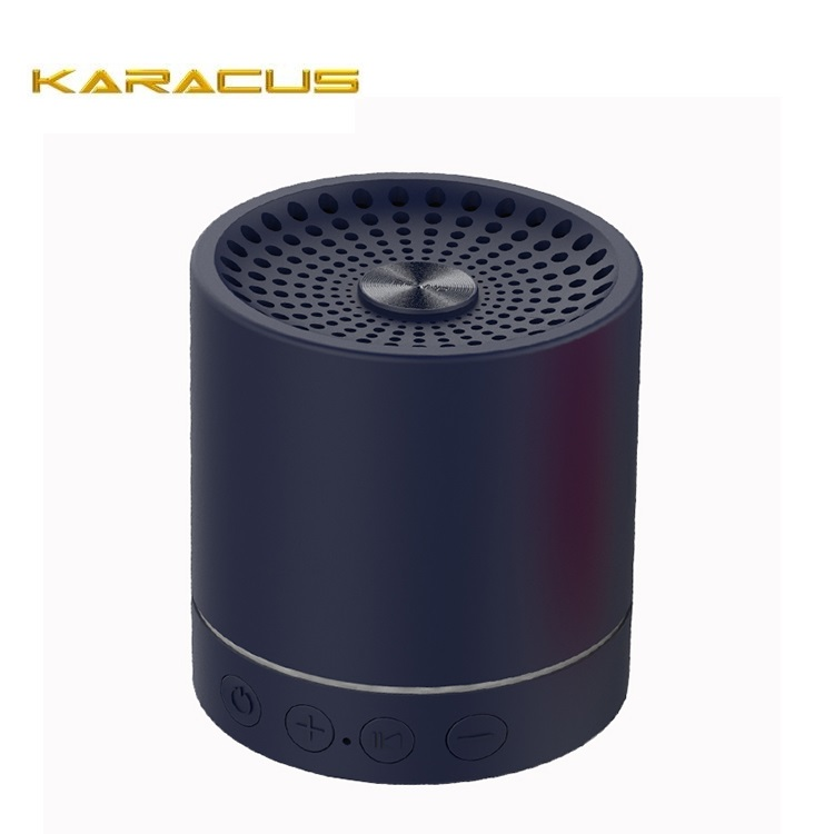 Exciting Product Cylindrical LED Bluetooth Speaker Portable Mini With Twinkle Annular LED Strip Light