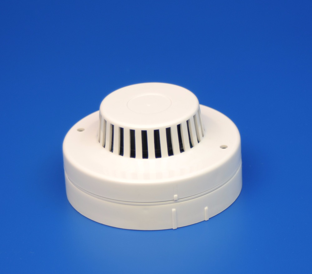 Conventional Photoelectric Optic Smoke Detector 80mm Dia Small