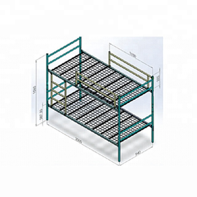 Cheap Paint Coated Metal Bunk Bed For Dormitory Buy Bunk Bed For