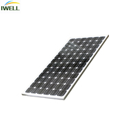 IWELL 40W mono Silicon flexible solar kits solar panels for home