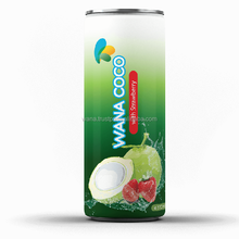 Fresh Organic Coconut Water Thailand With Strawberry Flavor in Can 320ml