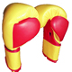 Leather professional boxing gloves / sparring Gloves