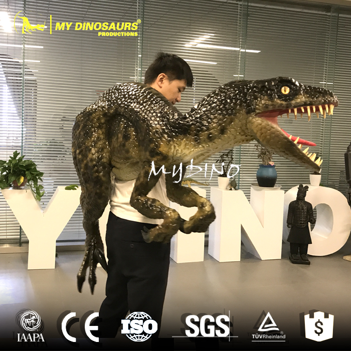 My-dino JL1-2 Customized Hand Control Rubber Dinosaur Puppet