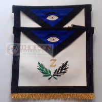 Masonic French rite 4th degree Apron