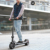 2018 new stylish foldable wide wheel electric scooter