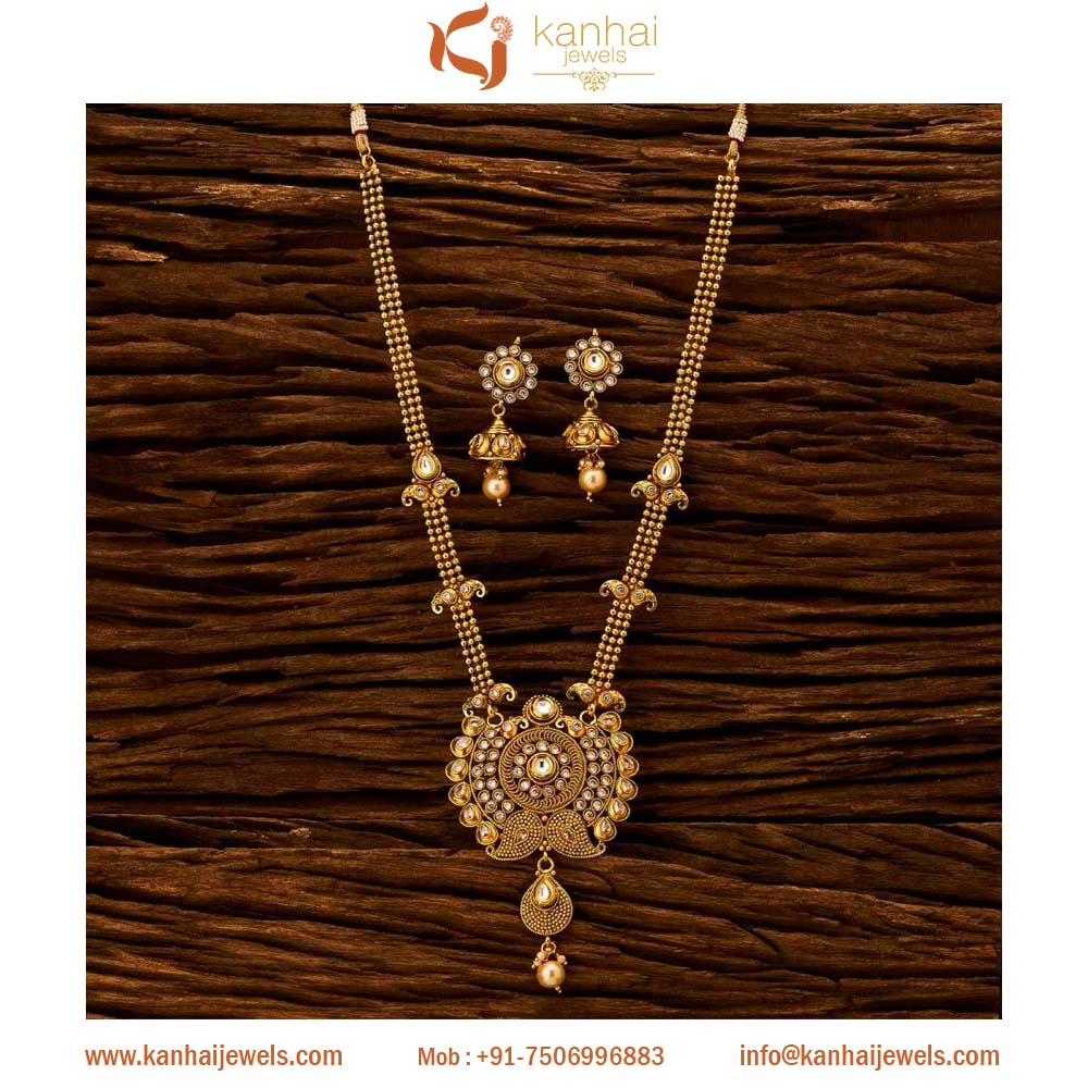 Gold Plated Fashion Jewellery Gold Plated Traditional Long
