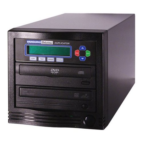 Kanguru DVD Duplicator 1-to-1 24x Disc Copier Model U2-DVDDUPE-S1