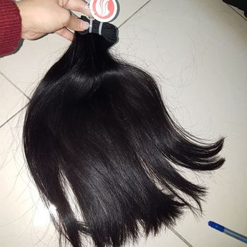 Cut from young lady directly virgin virgin real mink 7a cool hair styles straight Vietnam raw full cuticle real indian hair