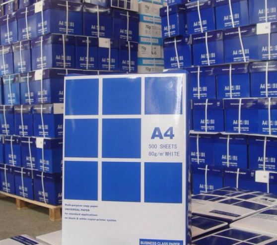 Multipurpose Double Copy Paper A4 80gsm Smoothly Paper for Copier or Print