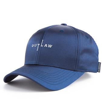 FB138  BIG THUG Out Law Black Satin baseball caps 60cm  custom baseball cap 55b68659125