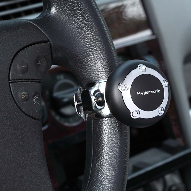 Atv,rv,boat & Other Vehicle Hot Sale Car Auto Black Control Handle Steering Wheel Handle Assist Spinner Knob Booster