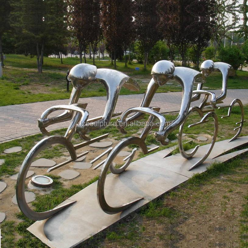 Cinétique Décoration De Jardin En Acier Inoxydable Vélo Sculpture - Buy  Sculpture Cinétique,Sculpture En Métal,Sculpture En Acier Inoxydable  Product ...