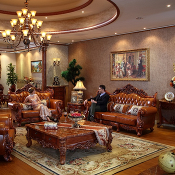 Traditional Wooden Handmade Living Room
