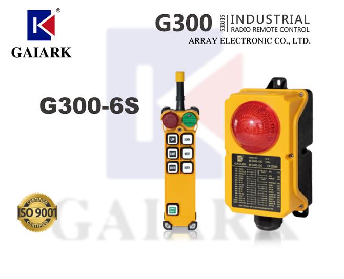 Gaiark Array G300-6S Industrial Radio Remote Control Crane Hoist F21-E1B TELEradio TELEcontrol Yuding Uting F23 F24