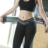 2018 wholesale Womens Work Out Sports lady Gym Yoga Training Pants
