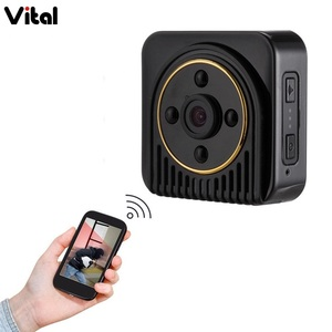 Vital 2018 New hot sell HD CMOS Infrared night vision mini video wifi Wireless network Security IP spy hidden camera H5