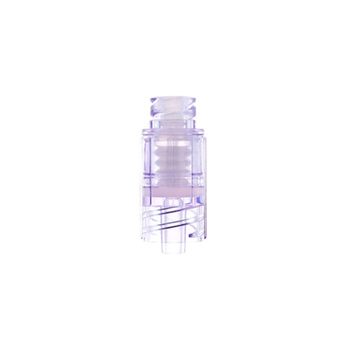 Needle Free Transparent Infusion Adapter Straight Type