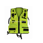 Zipper Vest Pockets Safety Harness Equipment Safety Vest with Pocket