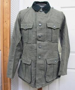 WW2 German Reproduction M36 Field Grey Wool Tunic