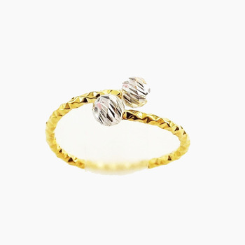Wholesale Gold Jewelry With Best Quality Double Bubble Ring Buy