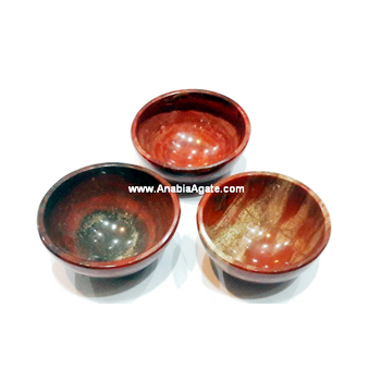 Red Jasper 2inch Gemstone Bowls : Agate Bowls For Sell @ Wholesale Price