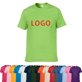 High Quality Custom Men's T-Shirt Printing Logo 100% Cotton T Shirt