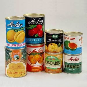 Canned Yellow/White Peach