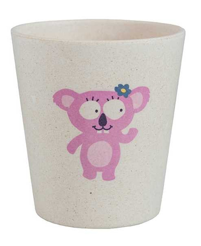 Top Quanlity Carbonized Rice Husks Koala Rinse Cup