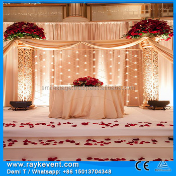 muslim wedding stage christmas decoration backdrops truss system