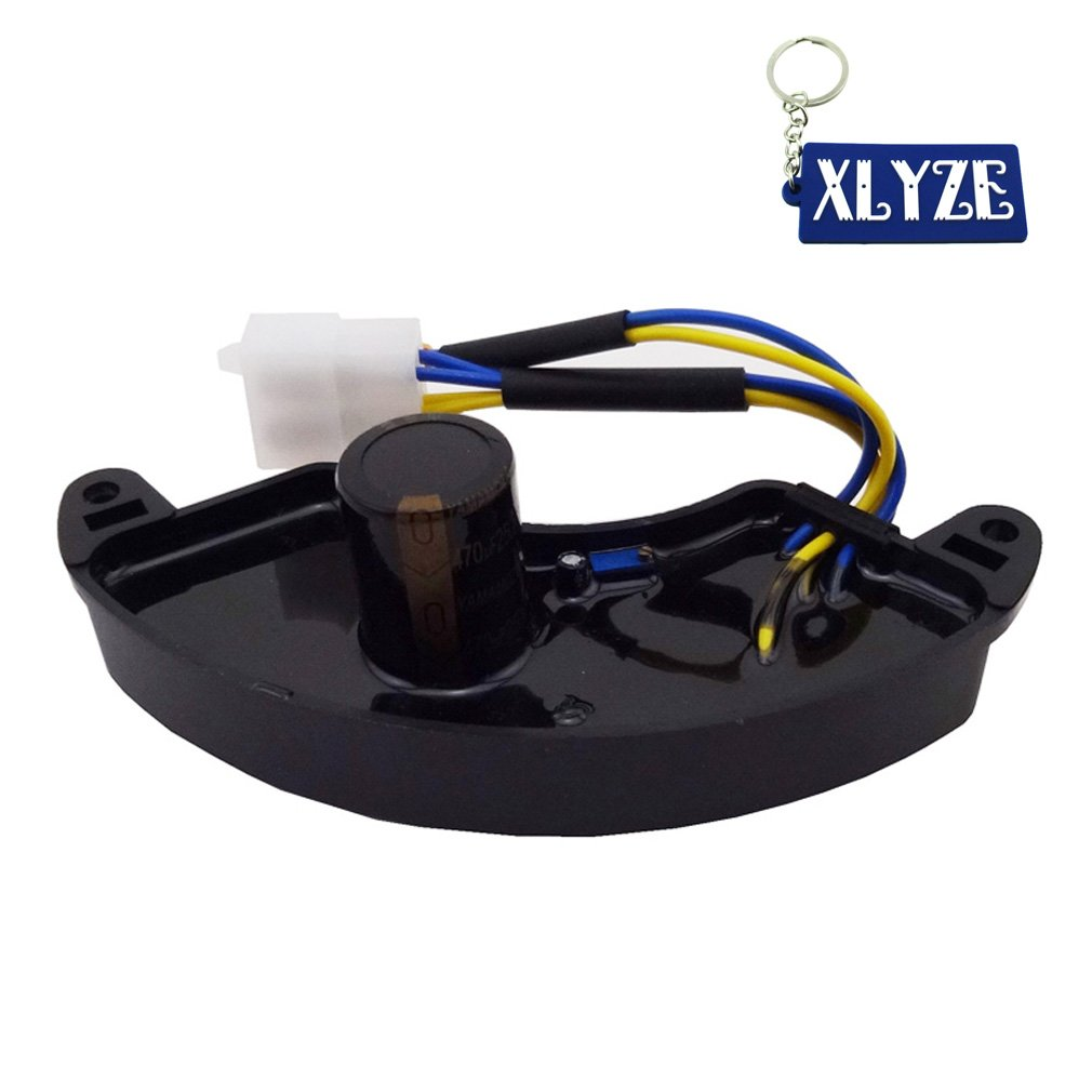 XLYZE 6KW 6.5KW Generator AVR Automatic Voltage Regulator Rectifier Single Phase