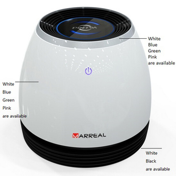 simple white looking air purifier with humidifier ,desktop air purifier purification remove formaldehyde