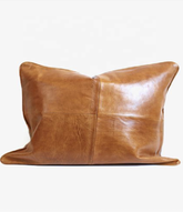 wonderful Moroccan Genuine Leather Pillow Covers