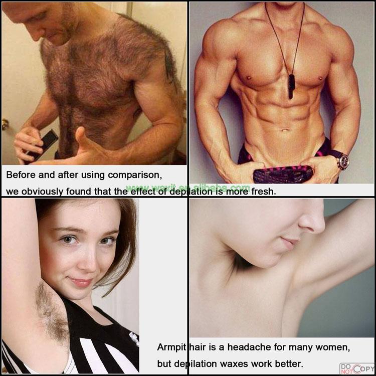 400g Enthaarungsperlen Schmerzlose Hartwachsbohnen für Männer und Frauen Haarentfernung 10 Aromen