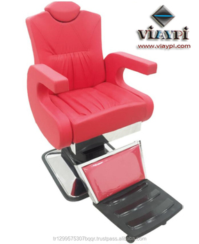 Modern Barber Chairs _ Viaypi Company _ Hydraulic Barber Chair _ Barber  Salon Chairs _ Turkey