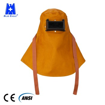 Blue Eagle Safety Flip-up lens face mask Arc Leather Welding Hood