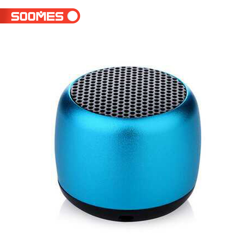 SOOMES A10 Super mini cheap wireless speaker with hands free line in for mobile phone