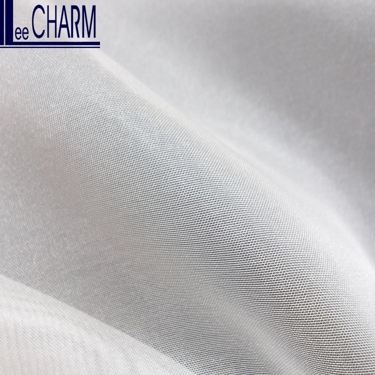 LCSH039 Taiwan Cheap Wedding Bridal Polyester Pure Organza Fabric