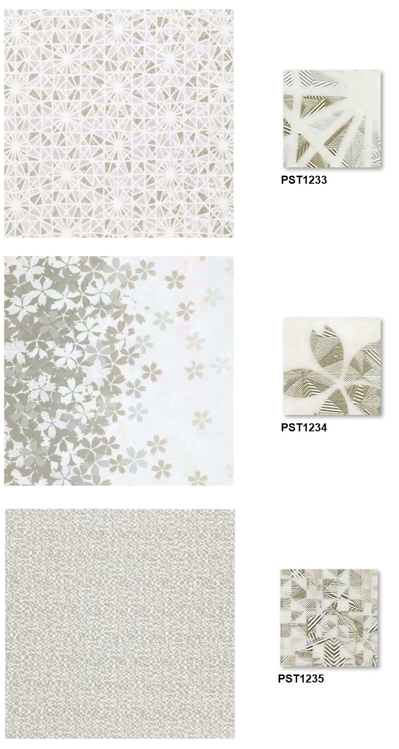 Tile Collection by Toli Brand, PVC Flooring Tile PST-1233 PST-1238, Made in Japan, Sample Available