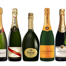 Lot 5 Champagner Brut 75cL-Bollinger Brut, Mumm <span class=keywords><strong>Rot</strong></span> Cordon, Ruinart Brut