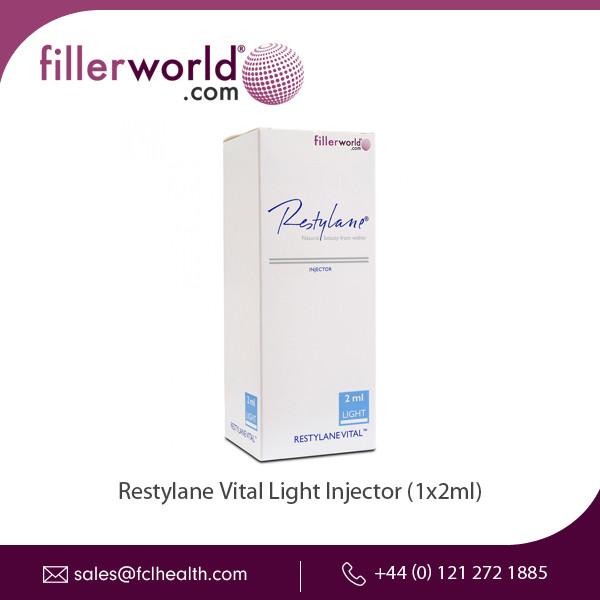 Certified Grade Restylane Vital Light Injector (1x2ml) For Healthy Skin -  Buy Restylane Vital Light Injector Manufacturer,Restylane Vital Light