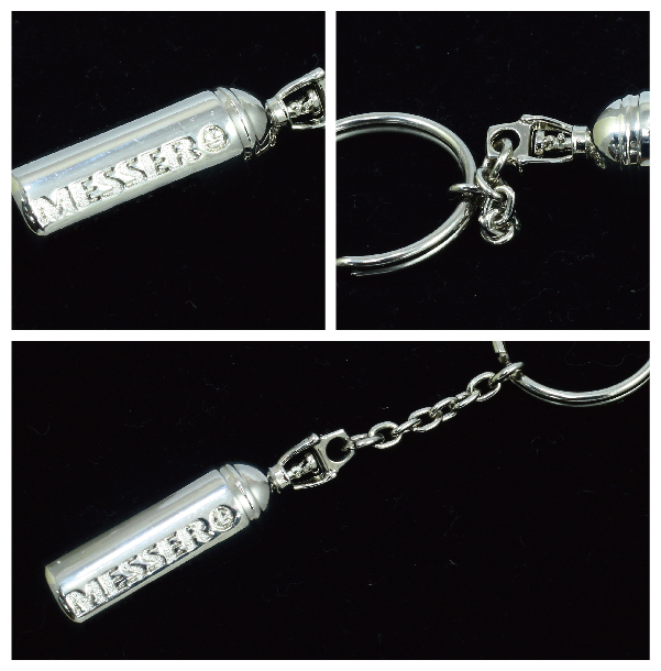 OEM Metal Full 3D Keychain with Custom Logo