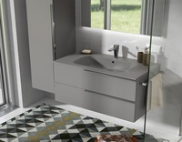 Low Price Best Quality Modern Soft Grey Bathroom Vanity