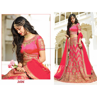 Stylish heavy work indian bridal lehenga choli online