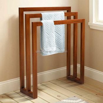 Teak Towel Rack,Stand Towel Hanger Wood,Teak Bathroom Furniture Production    Buy Towel Rack Teak Wood,Wooden Teak Towel Rack,Wooden Furniture Towel ...