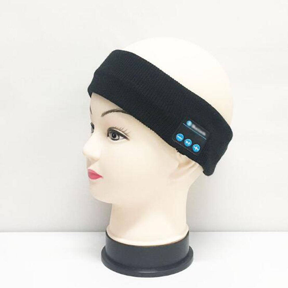Top seller music gadget knitting sport headwear music headband earphone for sport