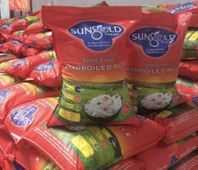 SunGold fresh long grain parboiled rice