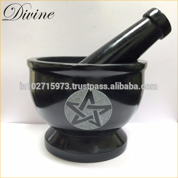 Stone Mortar & Pestle - Herbs & Spice Kitchen Tool