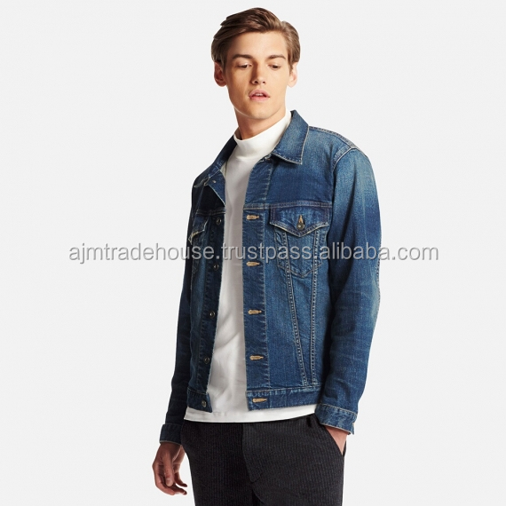 High Quality Fashion Men Denim Jacket Summer 2018 Top Design Men