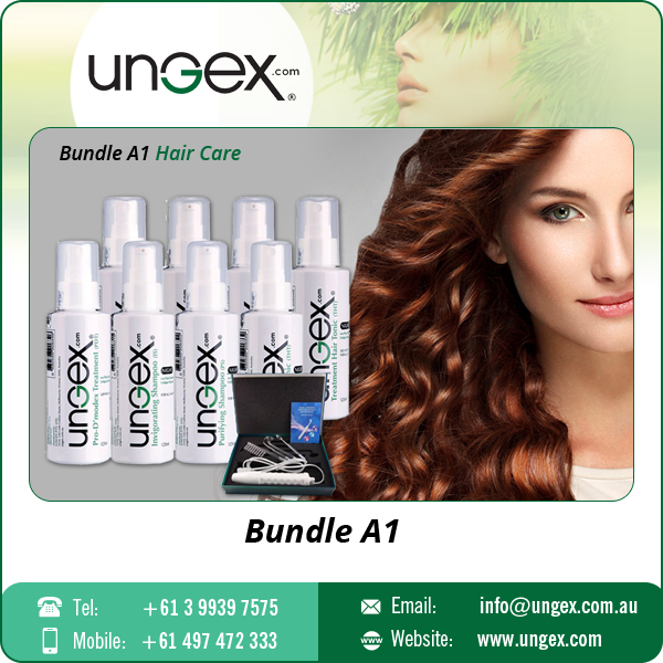 Top Selling Hair Care Bundle A1 for Itching Scalp and Demodex Hair Thinning